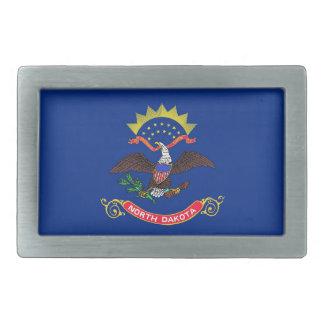 Hebilla del cinturón con la bandera del estado de hebilla de cinturón rectangular