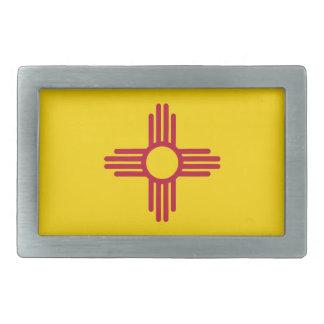 Hebilla del cinturón con la bandera del estado de hebillas de cinturón rectangulares