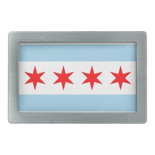 Hebilla del cinturón con la bandera estado de Chic Hebilla Cinturon