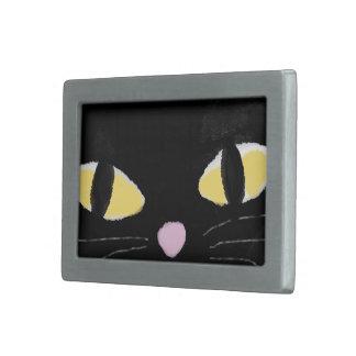 Hebilla del cinturón con los ojos de gato hebillas cinturón rectangulares
