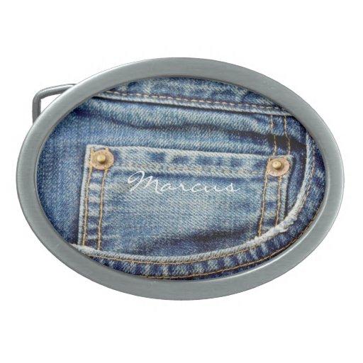 Hebilla del cinturón conocida de los tejanos del d hebilla de cinturón oval