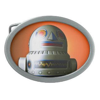 Hebilla del cinturón cosechada retra del robot 02 hebilla cinturon