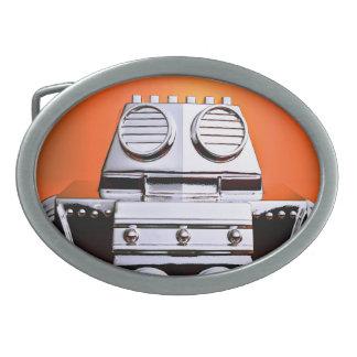 Hebilla del cinturón cosechada retra del robot 04 hebilla cinturon