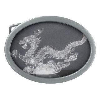 Hebilla del cinturón cristalina del dragón hebilla de cinturon