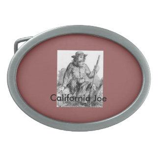 """Hebilla del cinturón de """"California Joe"""" Hebillas De Cinturón Ovales"""