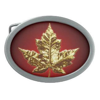 Hebilla del cinturón de Canadá de la medalla de or Hebillas De Cinturon