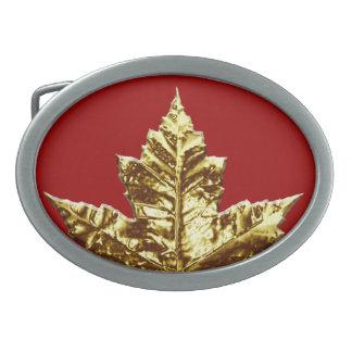 Hebilla del cinturón de Canadá de la medalla de or Hebillas De Cinturón Ovales