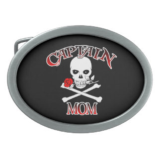 Hebilla del cinturón de capitán Mom Hebillas Cinturon Ovales