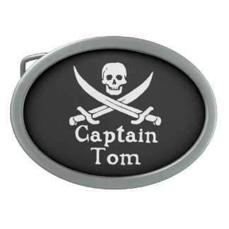 Hebilla del cinturón de capitán Tom Hebilla Cinturon Oval