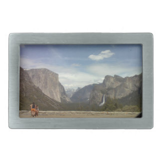 Hebilla del cinturón de capitán Yosemite del EL Hebilla De Cinturón Rectangular