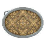 Hebilla del cinturón de cobre amarillo pesada de S Hebillas De Cinturón Ovales