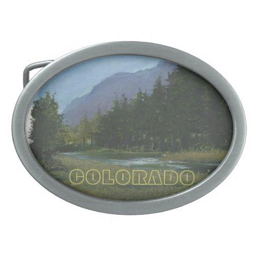 Hebilla del cinturón de Colorado Hebillas Cinturon Ovales