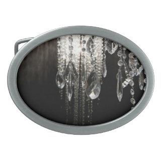 Hebilla del cinturón de cristal elegante del hebilla de cinturón oval
