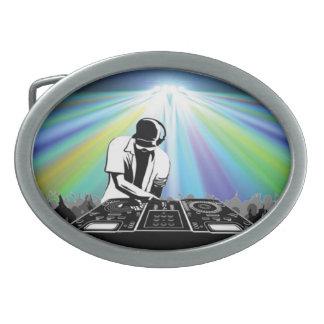 Hebilla del cinturón de DJ Hebillas Cinturon Ovales