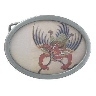 Hebilla del cinturón de Garuda Hebillas Cinturón Ovales