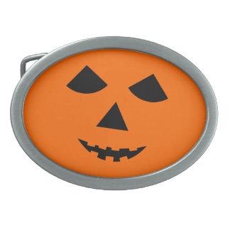 Hebilla del cinturón de Halloween de la Jack-o-Lin Hebilla De Cinturon