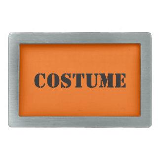 Hebilla del cinturón de Halloween del traje Hebilla Cinturon Rectangular