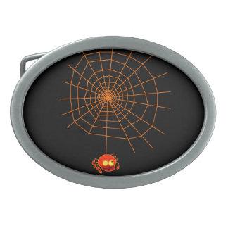 Hebilla del cinturón de Halloween del Web de araña Hebillas Cinturon