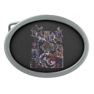 Hebilla del cinturón de Hieros Gamos Hebilla De Cinturón Oval