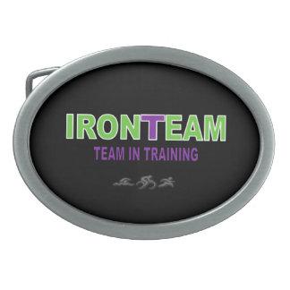 Hebilla del cinturón de Ironteam - NEGRO Hebillas Cinturon Ovales