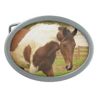 Hebilla del cinturón de itinerancia del caballo de hebilla de cinturon
