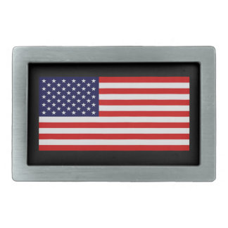Hebilla del cinturón de la bandera americana hebilla cinturon rectangular