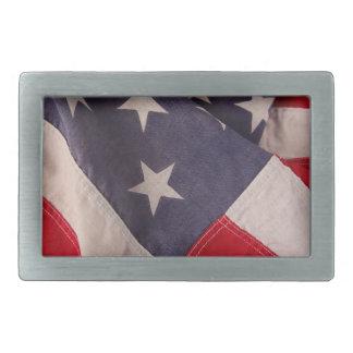 Hebilla del cinturón de la bandera de América Hebillas Cinturón Rectangulares