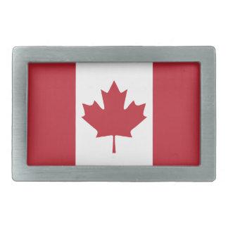 Hebilla del cinturón de la bandera de Canadá Hebillas Cinturon Rectangulares