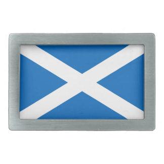Hebilla del cinturón de la bandera de Escocia Hebillas De Cinturón Rectangulares