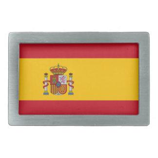 Hebilla del cinturón de la bandera de España Hebillas Cinturon Rectangulares