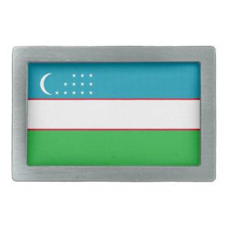 Hebilla del cinturón de la bandera de Uzbekistán Hebillas Cinturon