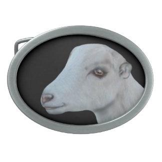 Hebilla del cinturón de la cabra de la lechería de hebillas de cinturon ovales