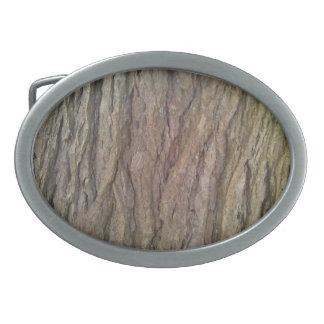 Hebilla del cinturón de la corteza del Hemlock Hebillas Cinturón Ovales