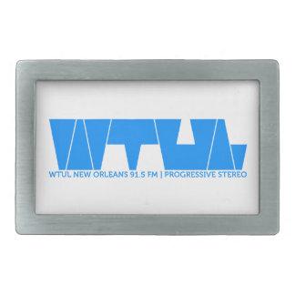 Hebilla del cinturón de la estación de radio de WT Hebilla De Cinturón Rectangular