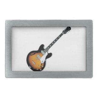 Hebilla del cinturón de la guitarra hebillas de cinturon rectangulares