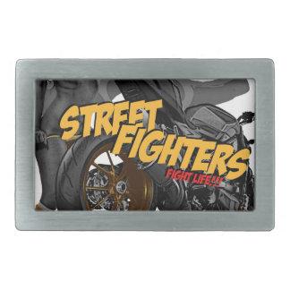 Hebilla del cinturón de la motocicleta de Streetfi Hebilla Cinturón Rectangular