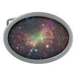Hebilla del cinturón de la nebulosa de la pesa de  hebillas cinturon ovales
