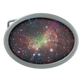 Hebilla del cinturón de la nebulosa de la pesa de  hebillas de cinturon ovales