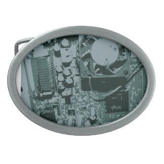 Hebilla del cinturón de la placa madre hebillas de cinturón ovales