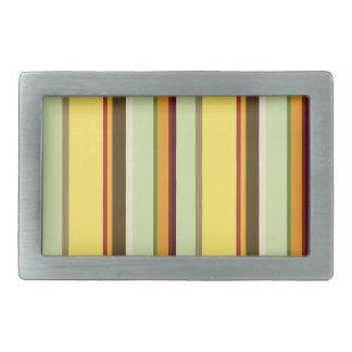 Hebilla del cinturón de la raya del campo de color hebilla de cinturón