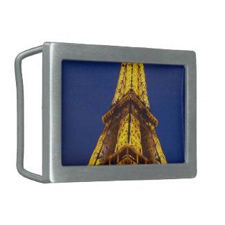 Hebilla del cinturón de la torre Eiffel Hebillas De Cinturón Rectangulares