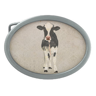 Hebilla del cinturón de la vaca del ónix y de la m hebillas cinturon
