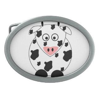 Hebilla del cinturón de la vaca hebilla cinturon oval