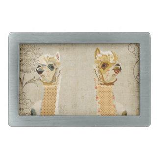 Hebilla del cinturón de las alpacas del oro hebillas de cinturon rectangulares