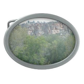 Hebilla del cinturón de las montañas rocosas hebillas cinturon ovales