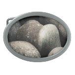 Hebilla del cinturón de las piedras hebilla de cinturon oval