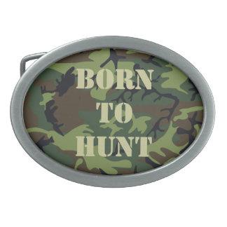 Hebilla del cinturón de los cazadores hebillas de cinturón ovales