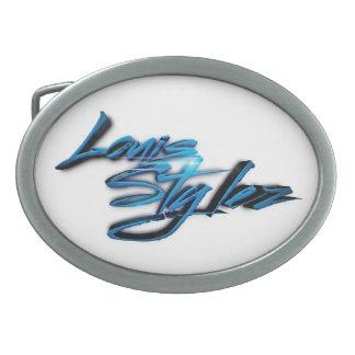 Hebilla del cinturón de Louis STYLEZ (club de fans Hebillas Cinturon Ovales