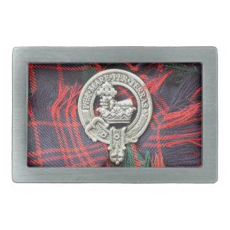 Hebilla del cinturón de MacDonald del clan Hebillas De Cinturon Rectangulares