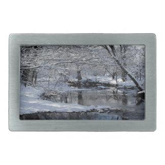 Hebilla del cinturón de New Hampshire del río de Hebillas De Cinturón Rectangulares